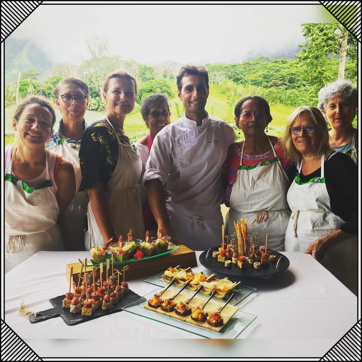 culinary workshops with Marc Lintanf