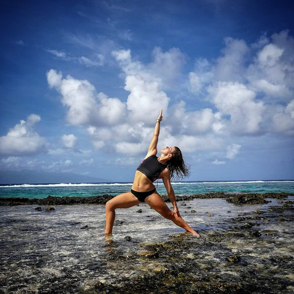 Yoga classes private or in group with Cindy